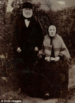 William Sutherland and his wife Rachel  brother of Scottish spinster Janet Sutherland, who designed the royal Christening gown to echo Queen Victoria's wedding dress