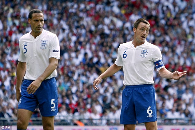 Know-how? Ferdinand has more than 80 caps for his country and has played at the highest level for 17 years