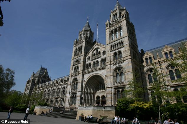 Revealing: The secrets of the AMC will be revealed at a talk at the Natural History Museum this week