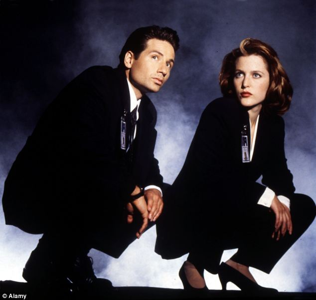 Mystery: The origins of the 'space slime' might even have left Mulder and Scully from cult television programme The X-Files stumped