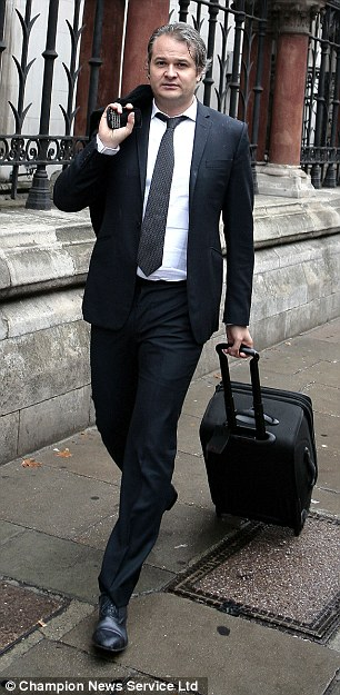 Divorce battle: Former City trader Yan Assoun (above) claimed in London's appeal court that he was 'bust' despite being a major shareholder of £5m-a-year business