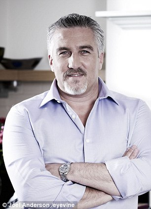 Bake Off judge Paul Hollywood replied angrily to Mr Blanc: 'wow Raymond have you seen the winner already?'