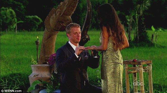 The proposal: Sean popped the question to Catherine on the season finale of The Bachelor
