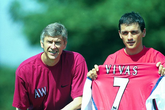 Back in the day: Arsene Wenger unveils signing Vivas for Arsenal in 1997