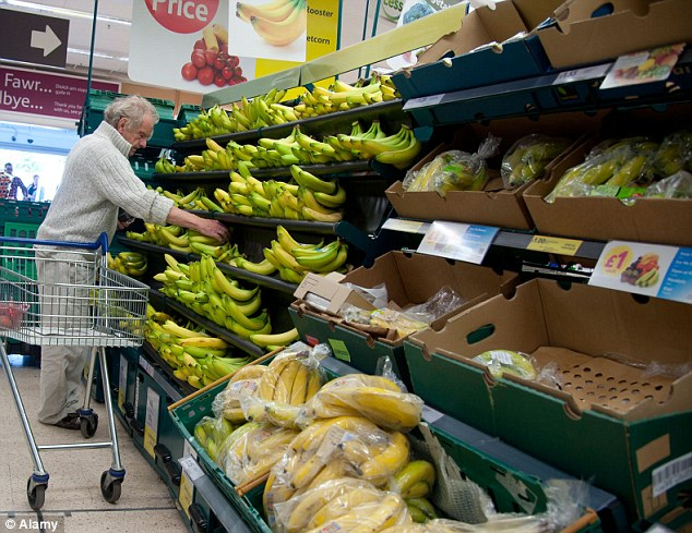 Tesco's results also exposed the spectacular waste of our fruit. A quarter of grapes, two-fifths of bananas and 40 per cent of apples are discarded each year