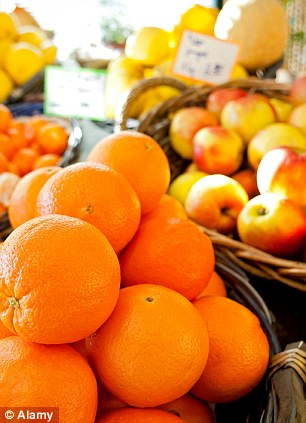 Because of nit-picking standards governing appearance, 40 to 50 per cent of fruit and vegetables are 'graded out' on farms