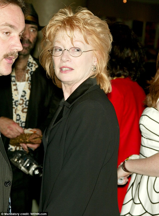 Childhood best friend: Dolly's school chum Judy Ogle was driving during the collision, pictured in New York in April 2004