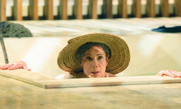 Master of language: As Beatrice in Shakespeare's Much Ado About Nothing at the National Theatre