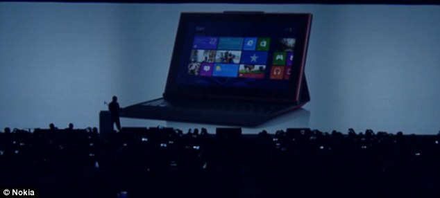The Nokia Lumia 2520 is the firm's first ever tablet and was announced at an event in Abu Dhabi.