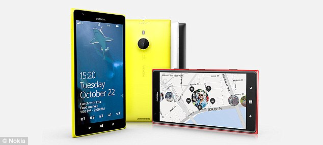 Nokia recently unveiled its Lumia 1520, pictured left, and the Lumia 2520, pictured right.