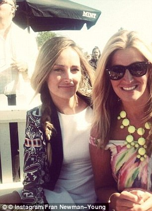 Totes BFFs: Fran Newman-Young (L) and Cheska Hull have forged a new friendship thanks to the E4 show