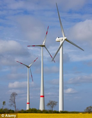 Wind up: The government is committed to wind power but it can be noisy and spoil local scenery