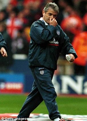 England manager Kevin Keegan