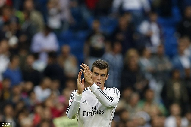 Point to prove: Gareth Bale could start for Real Madrid against Juventus on his return from injury