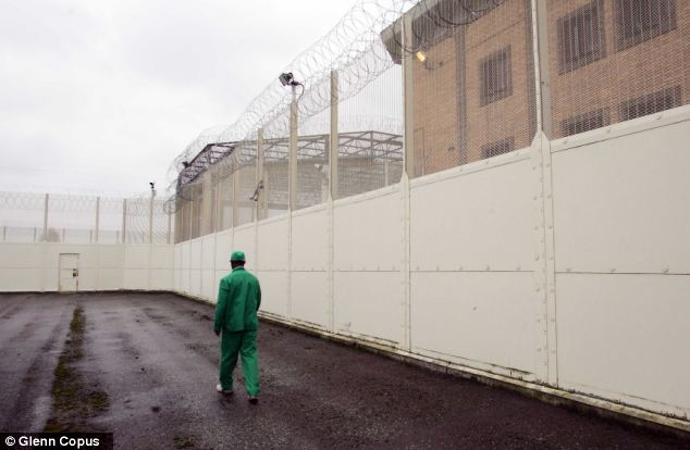 Held: In March 2011 Giwa was transferred to high security Belmarsh prison, pictured, after intelligence suggested he was involved in smuggling drugs into a detention centre