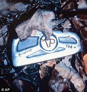 Weapon: This photo evidence used at trial shows the murder weapon, a 6 iron golf club that belonged to the late mother of Tommy and Michael Skakel