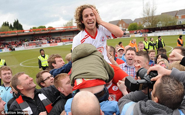 On the up: Torres has won two promotions with Crawley