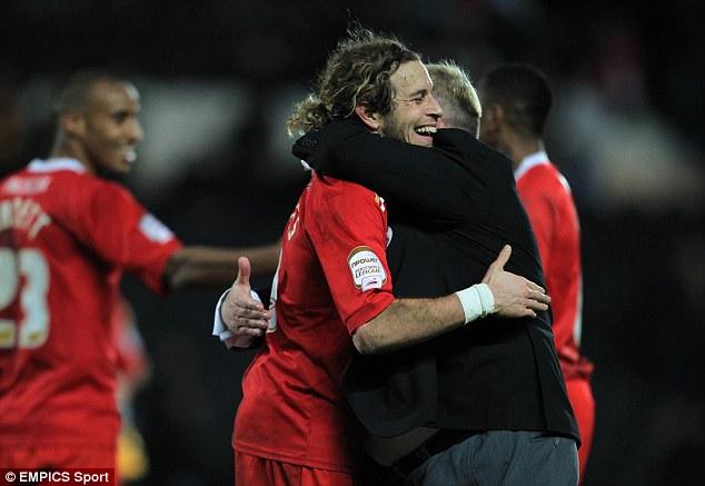 Good relationship: Torres says he enjoyed playing under Evans
