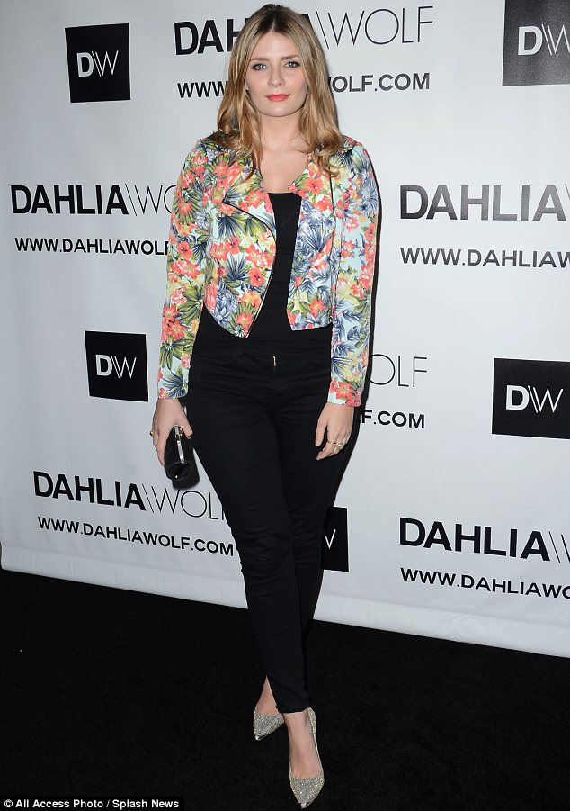 Doing great: Mischa Barton made her first appearance since opening up about her breakdown at the launch of fashion community Dahlia Wolf in Los Angeles on Tuesday