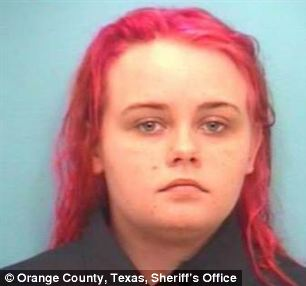Horror: Melissa Ann Ringhardt, 19, fell asleep while babysitting a five-year-old who shot himself