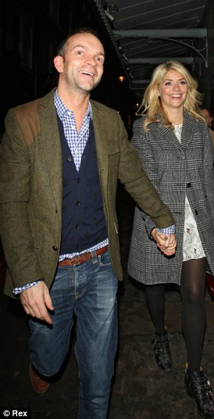 Holly Willoughby and Dan Baldwin
