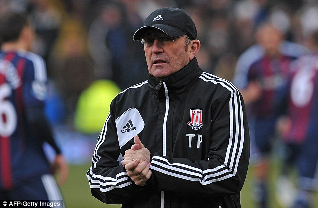 If the cap fits: Tony Pulis' name has already been mentioned in relation to the vacant post and he is the bookies' favourite