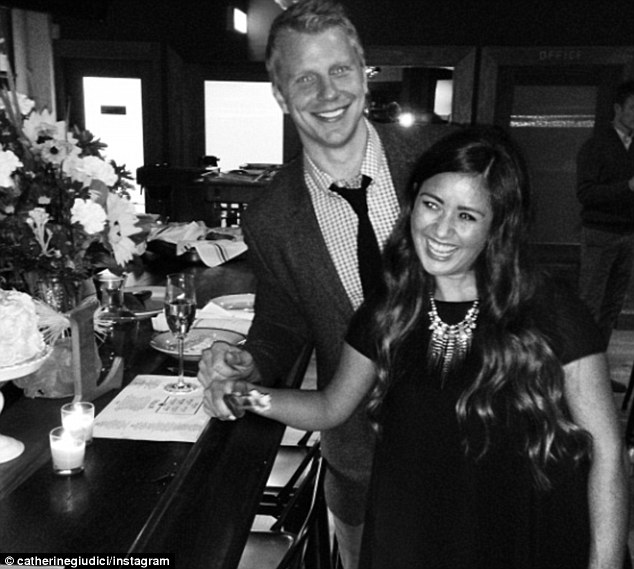 Sean Lowe is ready too: The Bachelor will wed Catherine Giudici, who he's seen with here at their October engagement party, on January 26