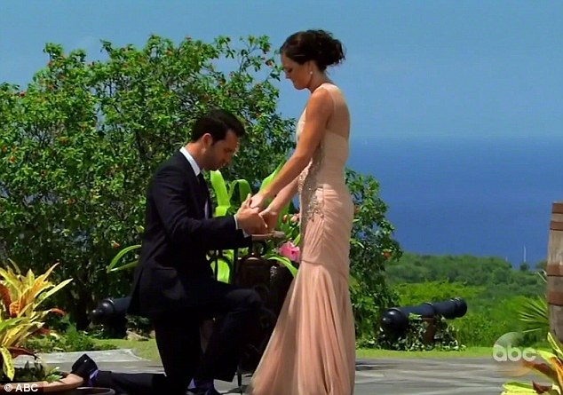So much love: The proposal, which aired in August, was heart felt and caused an overwhelmed Desiree to tear up