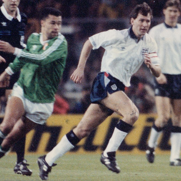 Three Lion: Robson appeared for England 90 times