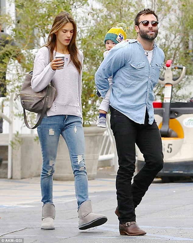 Trouble in paradise? The Brazilian beauty was recently hit with claims that her relationship with fiance Jamie Mazur was on the rocks, pictured together on Wednesday in LA