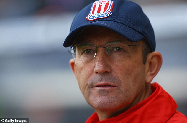 Talks: Tony Pulis is to meet Crystal Palace co-chairman Steve Parish to discuss the vacant manager's job