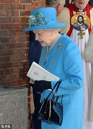 Queen Elizabeth called the event a 'very nice' family occasion