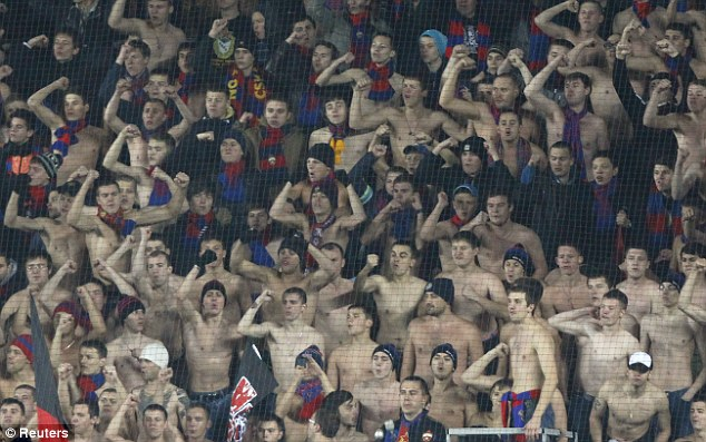 Major problem: Russian fans have a long history of racism towards black players