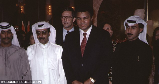 Convert: Muhammed Ali famously converted to the Isllamic faith - attending his first Nation of Islam meeting in 1961 and converting to Sunni Islam in 1975