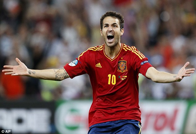 It's not all bad: Fabregas believes the English game doesn't need to change completely