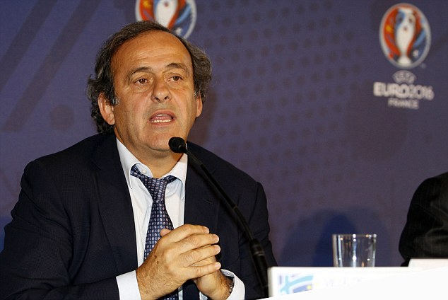 Michel Platini wants to know why referee didn't follow guidelines to warn Russian fans