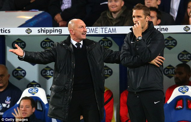 Teamtalk: Ian Holloway was involved in a dressing room argument during his final game as Crystal Palace manager
