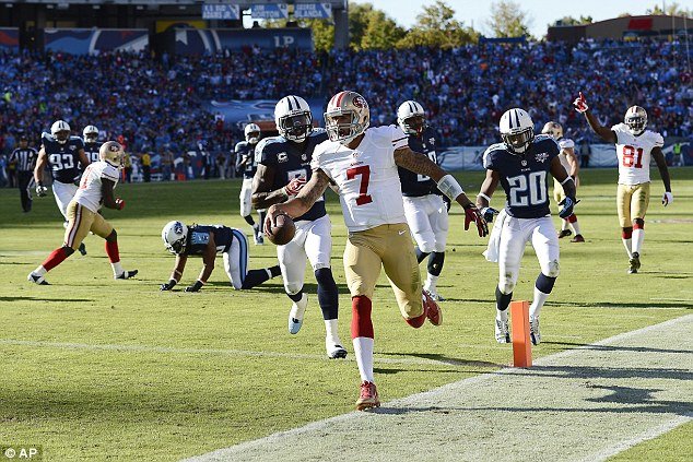 Form: The San Francisco 49ers arrive in London looking for a fifth straight win