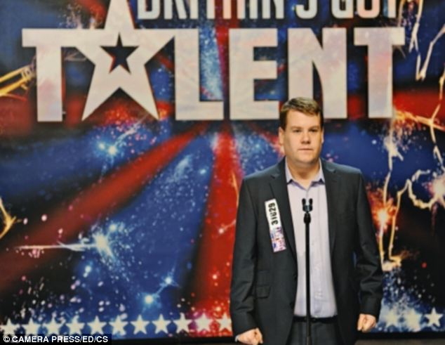 It takes a huge leap of the imagination to believe in James Corden as shy, under-confident Paul Potts