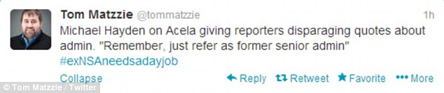 Once a journalist, always a journalist: Mr Matzzie, though not still a reporter, realized he had stumbled on a gold mine