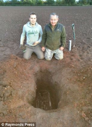 Members of DIGGING UP THE PAST