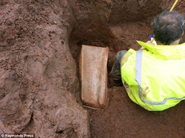 The lead coffin