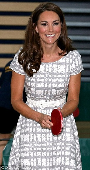 Big fan: The Duchess of Cambridge is a big fan of Hobbs and has caused items to sell out after wearing them