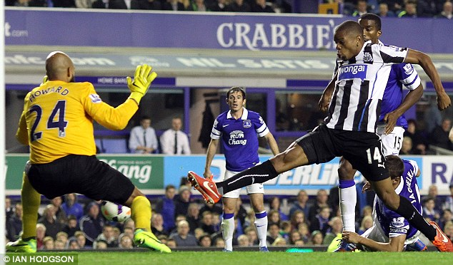 Lo on a high: Loic Remy has been in fine scoring form of late