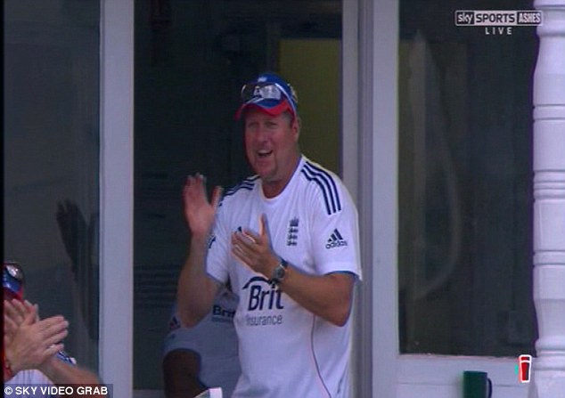 Applause: England's bowling attack have become feared under Saker