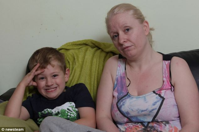 'Final straw': Harry¿s mother Debbie Reid, 35, was summoned to the school after her son pushed another child into a bookcase (not the first such incident) to be told: 'This is the final straw. The other children are terrified of him'
