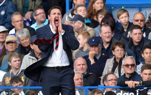Book-smart: Malky Mackay wants to take things and learn from reading