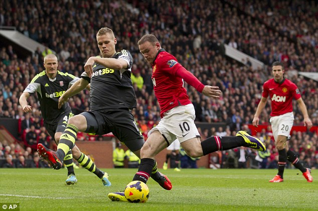 Expensive: Manchester United did not want to commit financially to Wayne Rooney