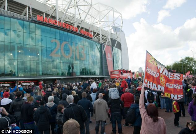 Senior figures at Old Trafford (stadium pictured) were described as being 'taken aback' by the incident