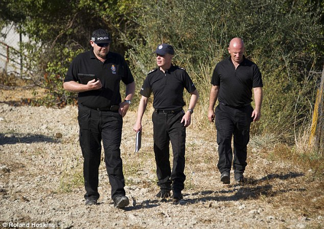 Search goes on: South Yorkshire Police Officers travelled to Kos last year to conduct their own search for missing Ben